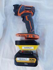 DeWalt 18v 20v battery Adapter to AEG/Ridgid powertools