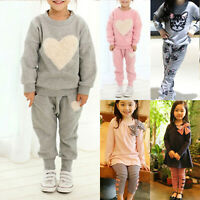 3Pc Baby Boy Girls Long Sleeve Coat+Tops+Pants Mickey Mouse Spring Fall Outfits
