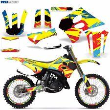 Decal Graphic Kit w/ Backgrounds Suzuki RM125 RM 125/250 RM250 Dirt Bike 93-95 M