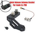 New Quick Release Antenna Bracket For ICOM IC-705 Portable Shortwave Radio