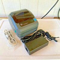 Zebra GK420d Thermal Shipping Label Barcode Printer USB Serial