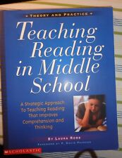 Teaching Reading in Middle School  Laura Robb 2000 paperback brand new