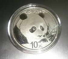 2018 China Panda 1 Oz Pure Silver 0.999 Proof Coin