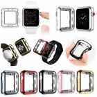 New DesignFor Apple Watch Series 3 / 2 /1  38/42mm Clear TPU Case  Cover Plating