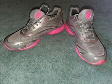 REEBOK Smoothfit Easytone Moving Air Gray Pink Walking Shoes Women's Size 10