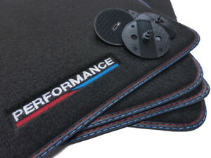 Performance Fußmatten für BMW X5 E70 X6 E71 xDrive sDrive Bj.2006-2014 Velours