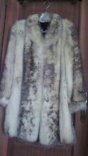FABULOUS WHITE GREY FOX FUR COAT