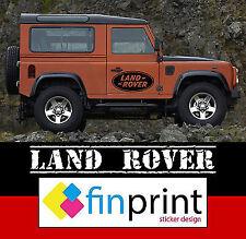 ADESIVI ADESIVO LAND ROVER DISCOVERY DEFENDER 90 110  DECAL FUORISTRADA 4X4