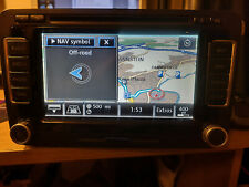 RNS510 2019 V16 MAP PASSAT, GOLF, SHARAN, ETC VW SAT NAV LED HDD DVD WITH CODE