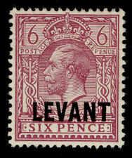 BRITISH LEVANT SG L22a, 6d reddish-purple, M MINT. Cat £40.