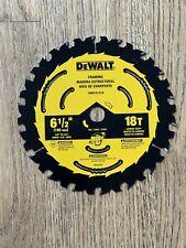 Dewalt Dwa161218 6 12 Inch 18 Tooth Circular Saw Blade