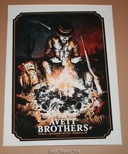 Zeb Love Avett Brothers Missoula Concert Poster Print Signed Numbered Art