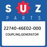 22740-46E02-000 Suzuki Coupling,generator 2274046E02000, New Genuine OEM Part
