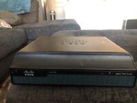 Cisco CISCO1941-/K9 VO5 Series Integrated Services Router W/ VWIC3-1MFT-T1/E1