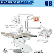 Dental Chair G8 He 3t 5 Led Gnutus With Bosch Motor Amp 3 Axis Movement