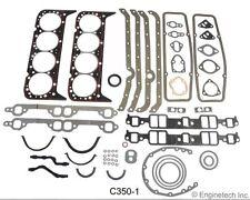 Small Block Chevy 5.7 350 327 FULL rebuild Gasket set overhaul Kit KS2600