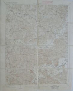 Original 1909 USGS Topo Map WHITESVILLE Kentucky Rough River Sulphur Springs L&N
