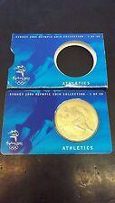 AUSTRALIA - $5 DOLLAR - SYDNEY 2000 OLYMPIC COIN - ATHLETICS COMMEMORATIVE