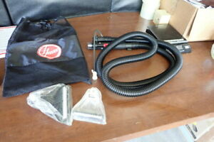 Hoover Steamvac Carpet Shampooer OLD STYLE Hose & 2 Heads w/ Bag Never used New