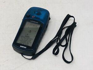 Garmin eTrex Legend Handheld Personal Navigator GPS - Translucent Blue TURNS ON