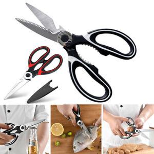 Stainless Steel Multi Purpose Kitchen Scissors Household Heavy Duty Sharp Tools