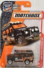 2016 Matchbox Land Rover Defender 110 Nip Matchbox Adventure Nib 84/125