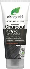 Activated Charcoal Face Wash 200ml - Dr Organic