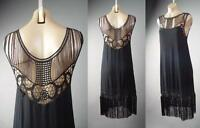 Black Fringe 20s Flapper Dance Great Gatsby Theme Party 236 mv Dress 1XL 2XL 3XL