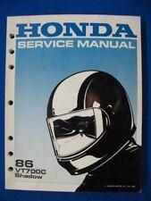 Honda 1986 VT700C Shadow NEW Original Factory Shop Service Manual