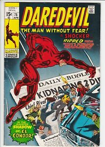 Daredevil # 75 FN- (5.5) Marvel. OW pages