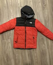 The North Face Reversible Chimborazo Hoodie Hooded Jacket Red SzL(14-16)