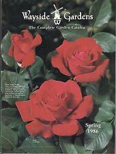 VINTAGE 1986 WAYSIDE GARDENS SPRING CATALOG