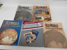 A Beka Old World History and Geography