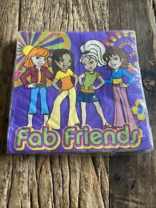 Polly Pockets Fab Friends Hallmark Birthday Party Napkins 16 Ct New In Package