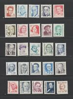 US,2168 / 2196,REGULAR ISSUES,1986-1994 COLLECTION,MINT NH VF