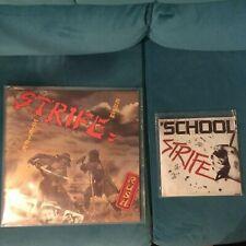 STRIFE VINYL ALBUM RUSH1975 PLUS RARE VINYL SINGLE SCHOOL/FEEL SO GOOD/GO 1977