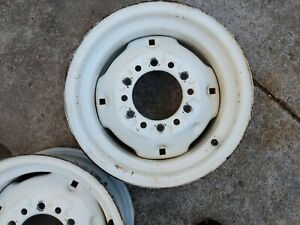 """1 Titan 14 x 6 6 Hole 6"""" bolt Front Tractor wheel rim New Holland 4wd tractor"""