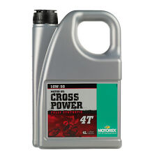 Motorex Cross Power Full Synthetic Engine Oil - 10W50 4 Litre