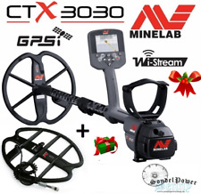 Minelab CTX-3030 GPS Metallsonde Metalldetektor + gratis Tiefensuchspule Angebot