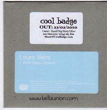 (FG812) Laura Veirs, Wide Eyed, Legless - 2010 DJ CD