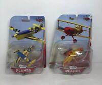 Disney Planes Diecast Lot of 2 NEW/SEALED Gunnar Viking + Sun Wing
