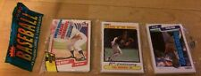 1990 Fleer Rack Pack Greg Walker White Sox Cal Ripken Orioles Mike Davis Dodgers