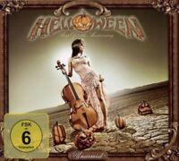 "HELLOWEEN ""UNARMED BEST OF 25TH ANNIVERSARY"" CD+DVD NEU"