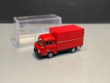 Barkas B1000 Berliner Feuerwehr Kasten Koffer Wagen B 1000 Brekina H0 1:87 OVP
