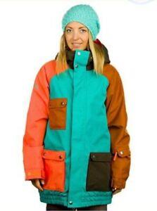 Nikita Creekside Snowboard  Snow Ski Rain Jacket