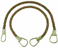 "Bronze Olive Beige 18"" Rope Tiebacks Chaparel Terracotta [Pair Of]"