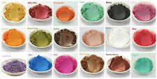 15-Color Matte Mineral Makeup Pigments Shimmer Mica Powder For DIY Soap M... NEW