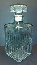 Vintage Beautiful Cut Glass Decanter