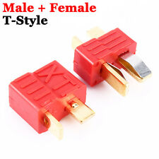 1 Pair Deans Ultra T-Style Connector Plugs Female Male For RC LiPo Battery Motor