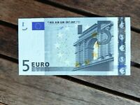 5 EURO Francia France L003 DUISENBERG 2002 Banconota qFDS aUNC Billet U
